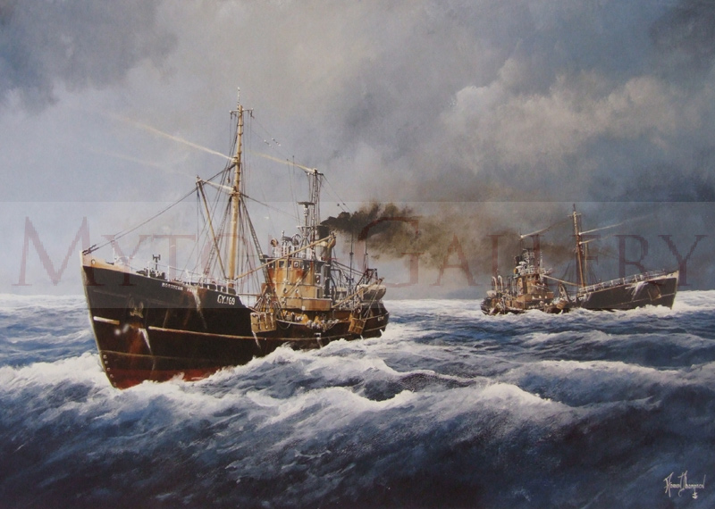 northern pride and northern duke fishing trawlers by adrian thompson