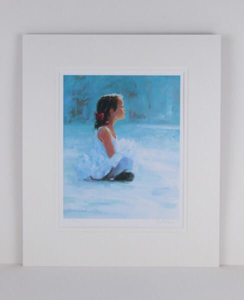ballerina picture by paul milner mounted for sale