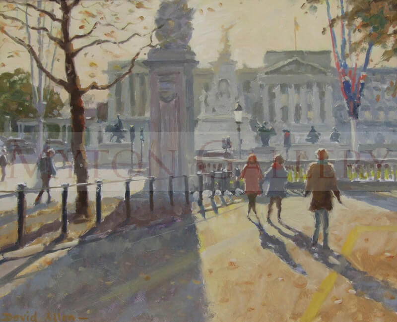 The Mall, London, by artist David Allen