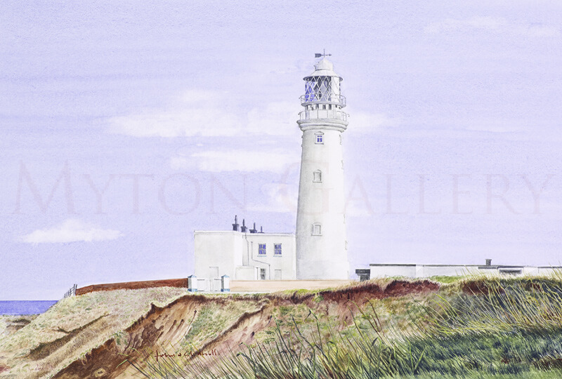 Flamborough Lighthouse picture by artist John Gledhill