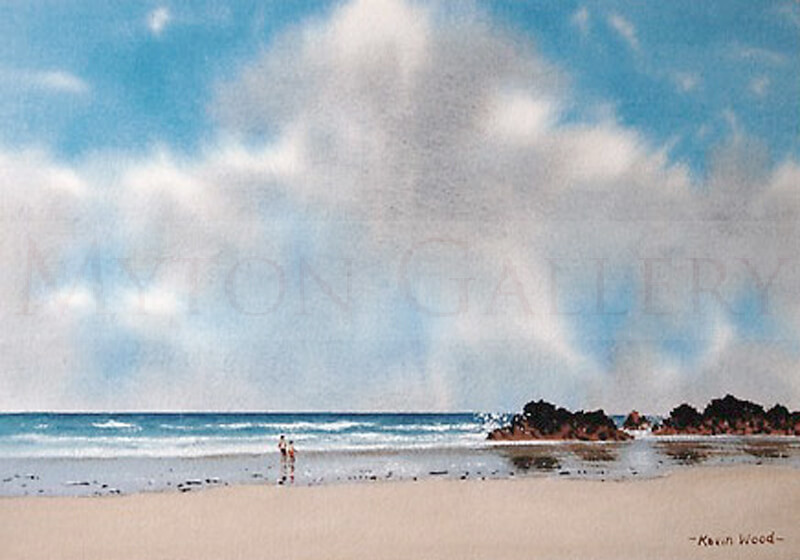 On The Beach Seascape picture by artist Kevin Wood