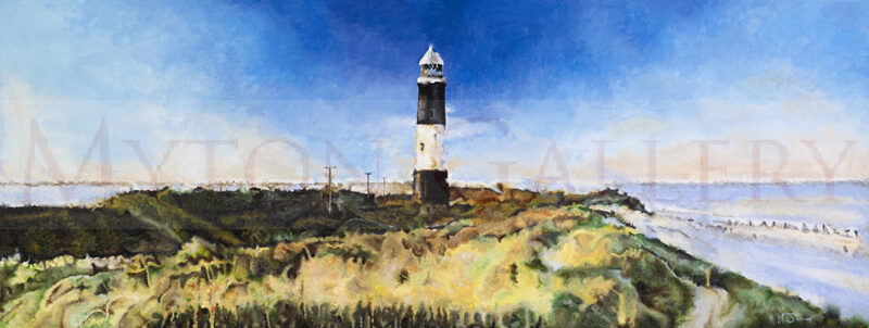 Spurn Point original painting by artist Martin Jones