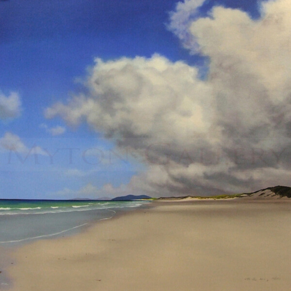 Outer Hebrides Seascape by Nicola Wakeling