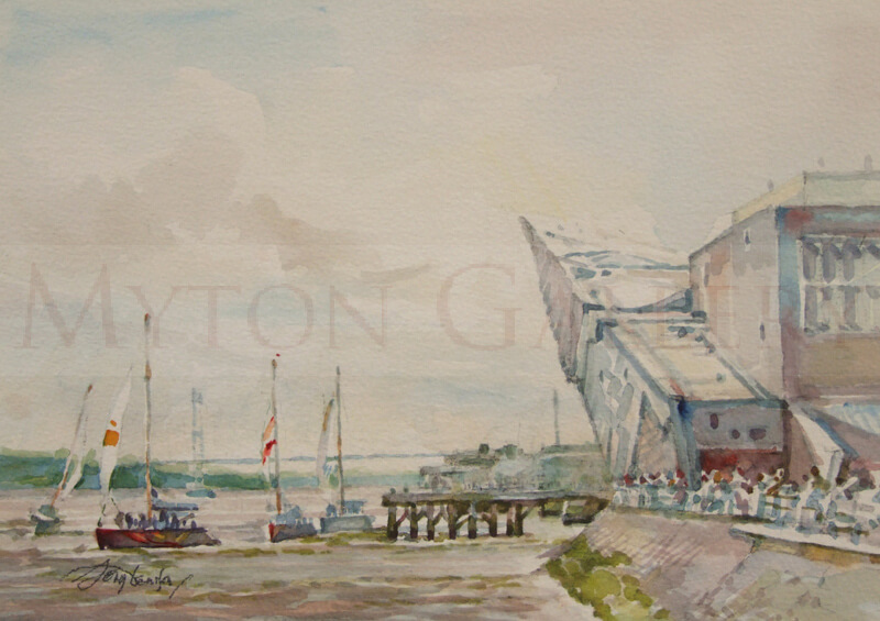 The Deep, Hull original painting by artist Tony Denison