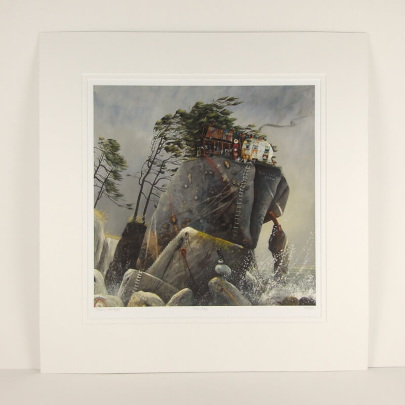 tracy savage grey crag mounted at myton gallery